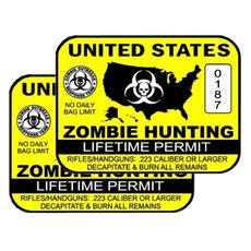 Car Sticker, luggagesticker, windowsticker, Hunting