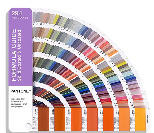 Pantone Gp1601a Guide 2019 Edition Coated And Uncoated Formula Guide Multicolored Only 294 New Color Wish