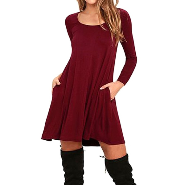 Maternity Dresses Clothes Fashion Pregnancy Dress For Pregnant Women Autumn Winter Dresses Maternity Clothing Mummy Clothes Wish
