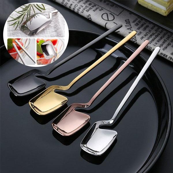 coffeespoon, longhandlespoon, Coffee, Stainless