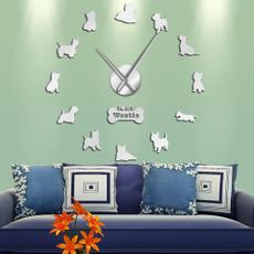 Home Decor, wallartsticker, Clock, Wall Decal