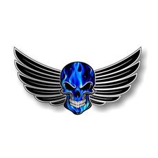 Blues, Car Sticker, Goth, Electric