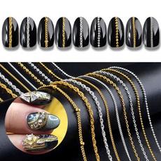 nail decoration, Nails, nailchainart, nailornament