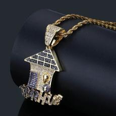 Party Necklace, Men  Necklace, punk necklace, Jewelry