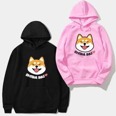 cute, shibainudog, hooded, womens hoodie