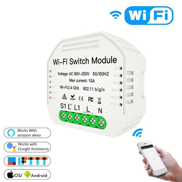 Mini, wirelessswitch, diysmartswitch, Remote Controls