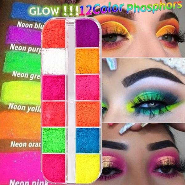 12 Colors Pack Makeup Fluorescent Neon