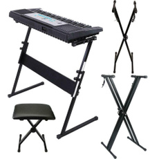 black, musicstand, Convenient, Keyboards