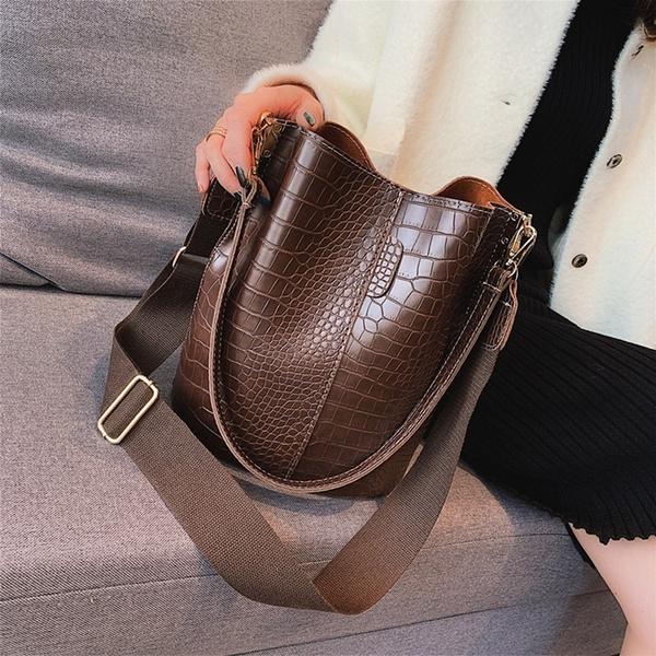 Shoulder Bags, womensleatherbag, Fashion, Capacity
