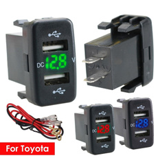 Toyota, cardualusbportsocket, phonecharger, charger