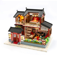 chinesestyledollhouse, chinesehousemodel, Home & Living, woodendollhouse