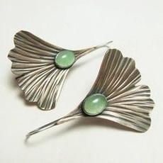 Silver Jewelry, Flowers, leaf, Jewelry