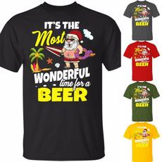 Plus Size, Graphic T-Shirt, letter print, Men
