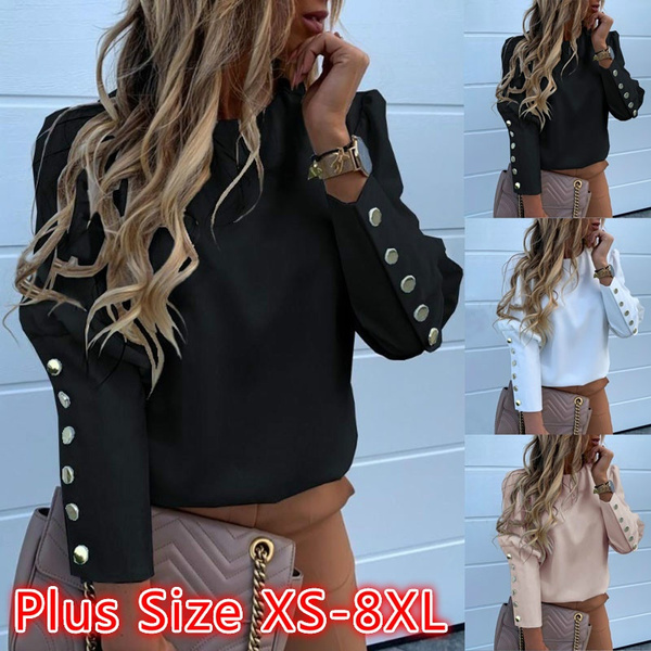 blouse, blouse women, Tops & Blouses, Long sleeve top