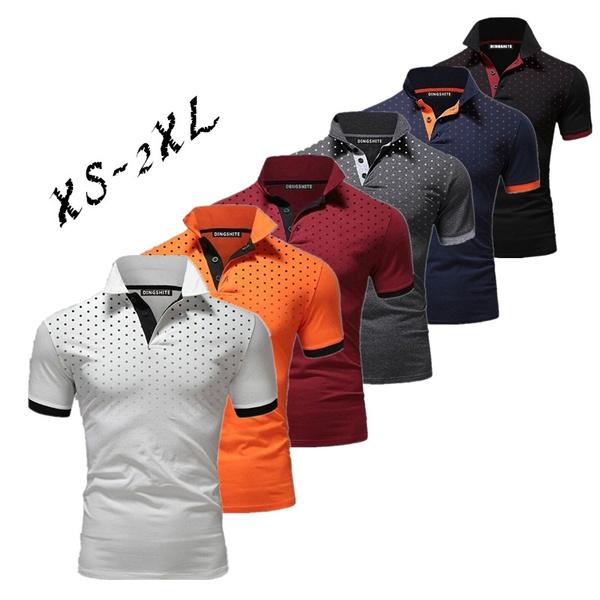 Summer, Fashion, Cozy, Polo T-Shirts