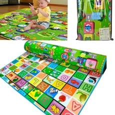 Picnic, crawlingmat, alphabetmat, kids