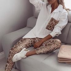 fashion women, Fashion, Autumn Shirts, pants