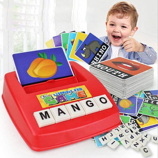 Toy, earlylearningtoy, Children's Toys, englishwordpuzzle