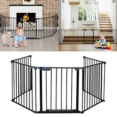 Steel, babysafetygate, petfence, fireplacefence