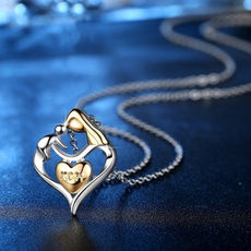 clavicle  chain, Jewelry Accessories, Gifts, Heart