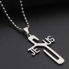 Fashion, Christian, withbeadchainnecklace, women necklace