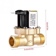 Brass, 12ac220v, Electric, magneticvalve