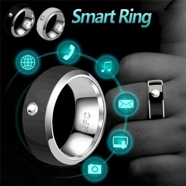 multifunctionalring, techampgadget, nfc, Jewelry