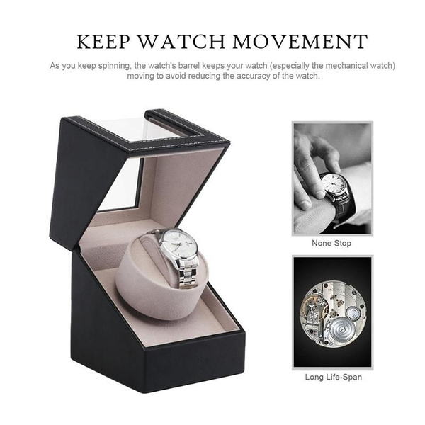 Box, shakewatchdevice, leather, Watch