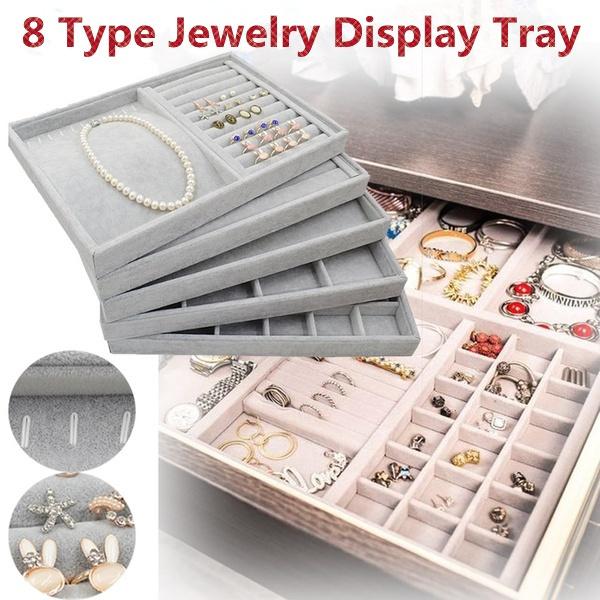velvet, Jewelry, Storage, jewellerybox