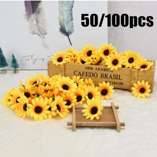 artificialsunflower, Home & Kitchen, weddingdecor, Sunflowers