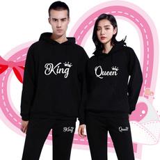 Couple Hoodies, King, printed, Sweatshirts