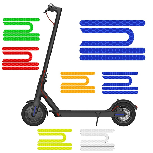For Xiaomi Mijia M365 Pro Electric Scooter Reflective Sticker Safe Night Riding