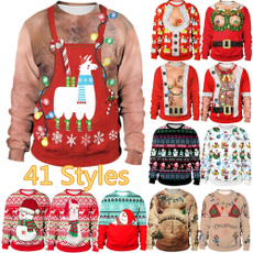 Fashion, Necks, christmassweater, Sweaters