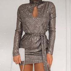 Mini, fashion women, sexy dresses, Sleeve