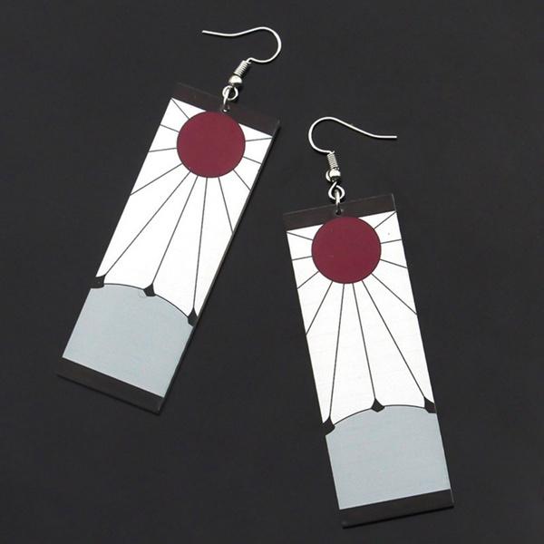 Jewelry, women earrings, Demon, ear studs