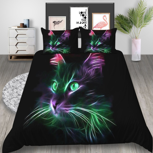 beddingsetskingqueensize, lightcat, Polyester, Designers