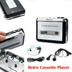 cassettetapeplayer, usb, tapeplayer, musicplayer