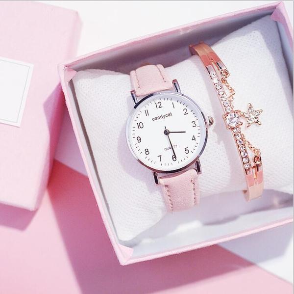 Women, Leather belt, Fashion, Clock