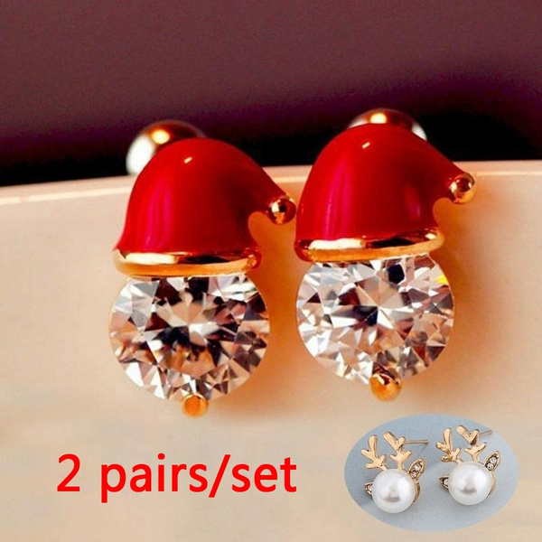 DIAMOND, Jewelry, Gifts, Stud Earring