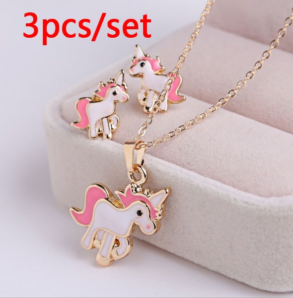 pink, horse, Jewelry, Gifts