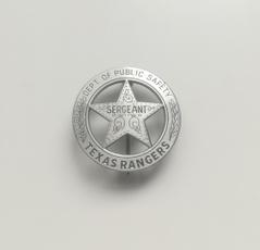 ranger, American, badge, Metal