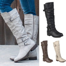 Plus Size, Buckle-Belt, Boots, belt