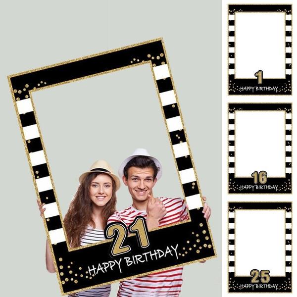 decoration, Photo Frame, diyphotoframe, party