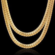 clavicle  chain, Chain Necklace, goldchainnecklace, Jewelry