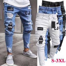 Hip Hop, men's jeans, Fashion, men trousers