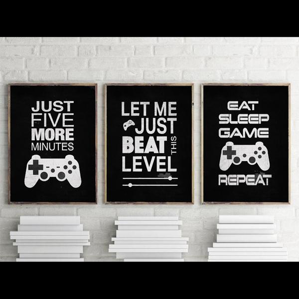 livingroomwallpainting, decoration, Video Games, Wall Art