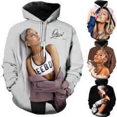 3D hoodies, 3dprintsweatshirt, arianagrandeshirt, arianagrande