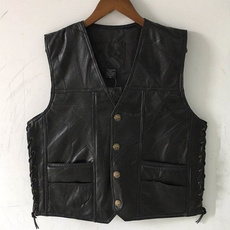 Vest, Fashion, Shirt, leather