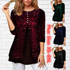 blouse, blouse women, Tops & Blouses, long sleeve dress