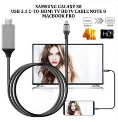 Gray, Converter, Hdmi, Samsung